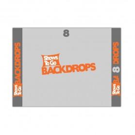 8x8 Custom Backdrop Curtain Only