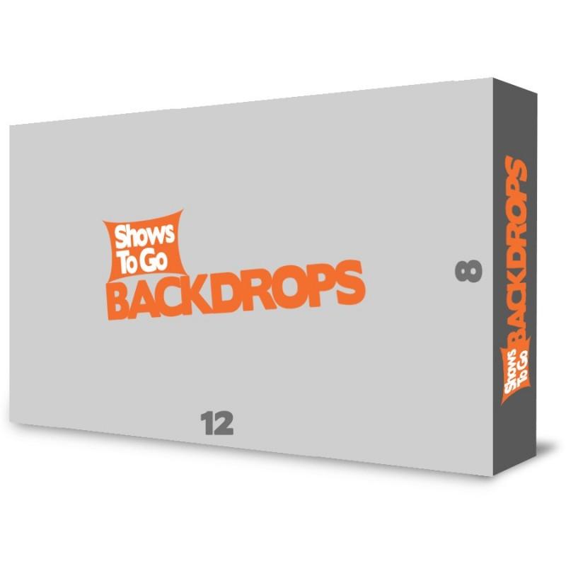 12ft x 8ft Custom Portable Backdrop