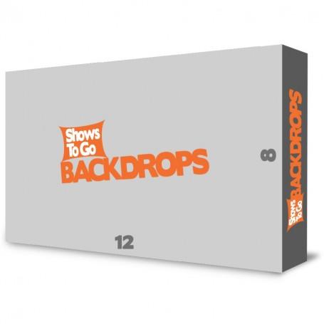 12x8 Custom Portable Backdrop