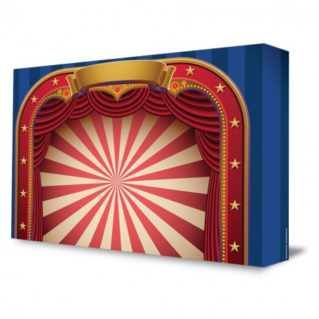 Circus Big Top Portable Backdrop