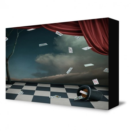 Modern Magic Show Backdrop
