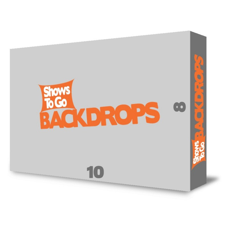 10x8 Custom Portable Backdrop