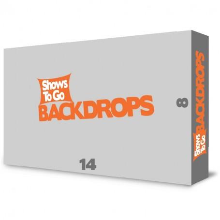 14x8 Custom Portable Backdrop