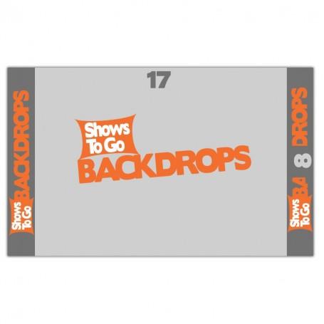 17x8 Custom Backdrop Curtain Only