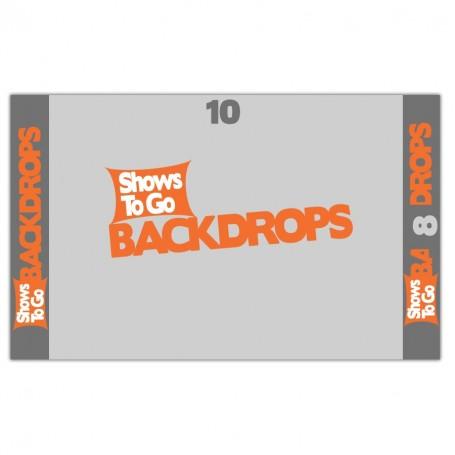 10x8 Custom Backdrop Curtain Only