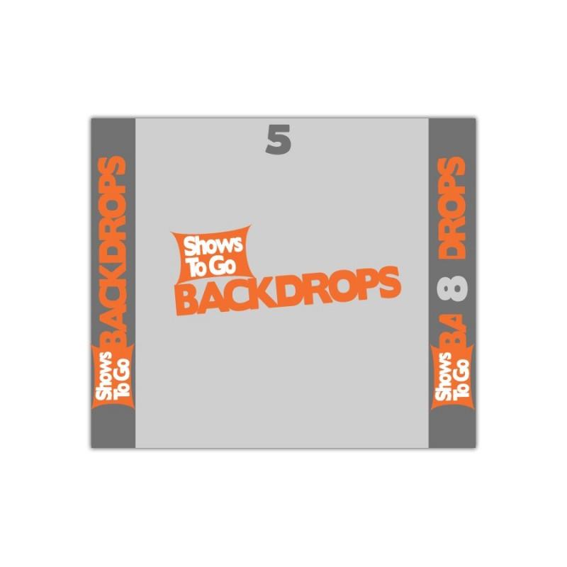 5x8 Custom Backdrop Curtain Only