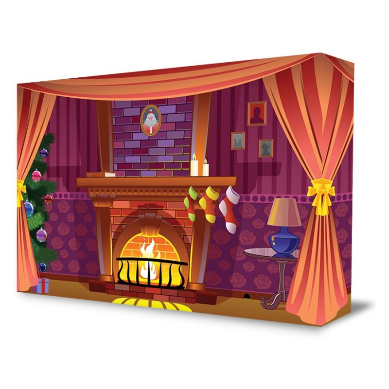"""Christmas Scene"" Portable Backdrop"
