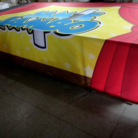 Custom Printed Fabric Hanging Banners (up to 8ft wide)