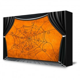 """Spider Web Stage"" Portable Backdrop"