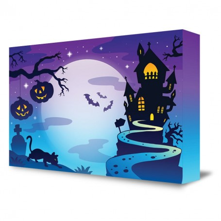 """Halloween Scene"" Portable Backdrop"