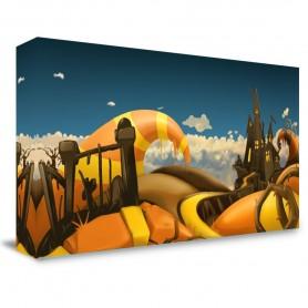 """Halloween Fantasy"" Portable Backdrop"