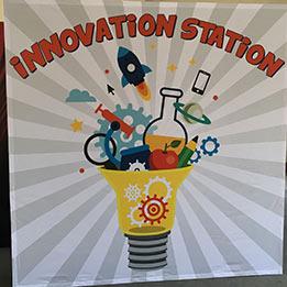 Innovation Station School Program Backdrop