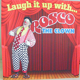 Rosco The Clown Show Stage Backdrop