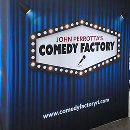 Comedy Factory Backdrop For Comedy Nights