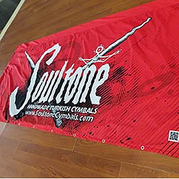 Double Sided Hanging Stage Banner