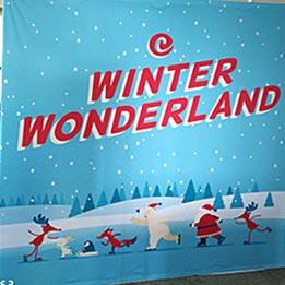 Winter Wonderland Church Event Promotion
