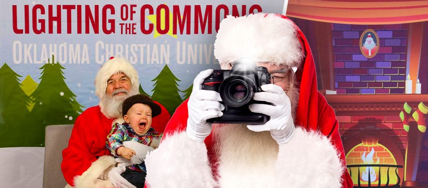 "Customize ""Photos With Santa"" Displays With Popup Backdrops"