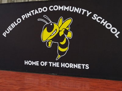 Pueblo Pintado School Gets A 3-in-1 Portable Backdrop System