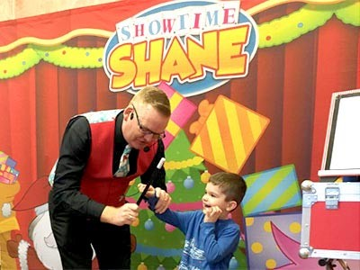 Fun Up His Sleeve: UK's Showtime Shane Is Ready To Party